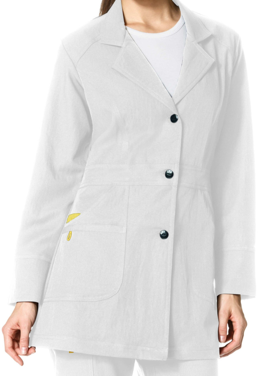 Wonderwink Four Stretch 32 Quot Lab Coat Nye Uniform